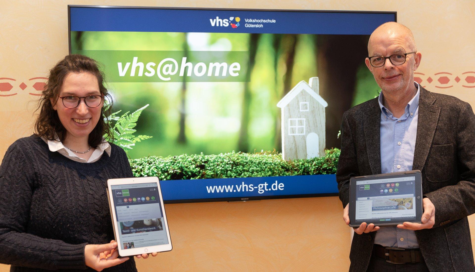 Volkshochschule Gütersloh startet online ins Frühjahrssemester